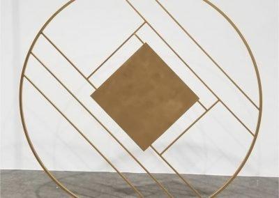 Diamond Centered Gold Backdrop ~ $200