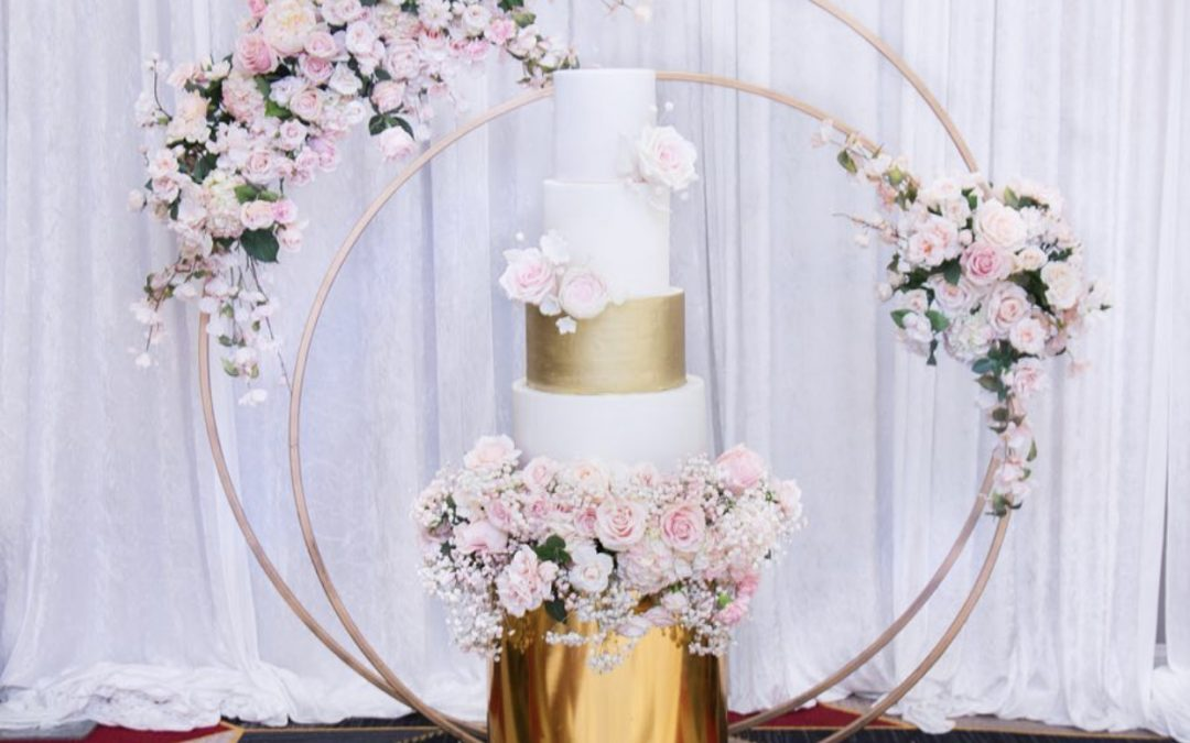 Gold Ring Backdrop (Small and Large) ~ $155-$175