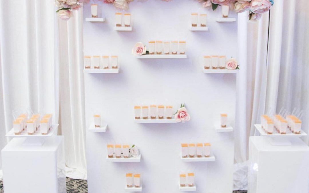 Mini Dessert Wall ~ $200