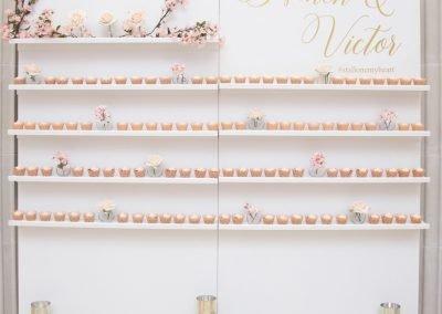 Shelved Dessert Wall ~ $250- $400