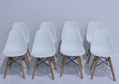 White Eiffle Kid Chairs ~ $8 each